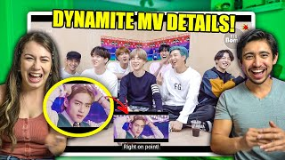 [BANGTAN BOMB] BTS 'Dynamite' MV Reaction (WE REACT TO BTS REACTING TO DYNAMITE)