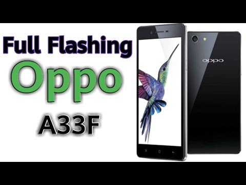 How to fix Oppo a33f new7 fleshing 100% done/ ulti display problem