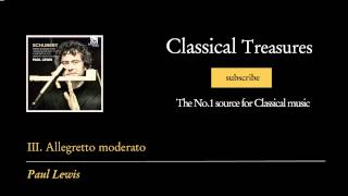 Franz Schubert - III. Allegretto moderato