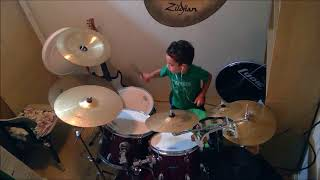 Familiar Faces - Incubus - Drum cover by Jonathan N
