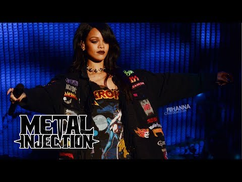 RIHANNA's Favorite Band is SLIPKNOT? | Metal Injection