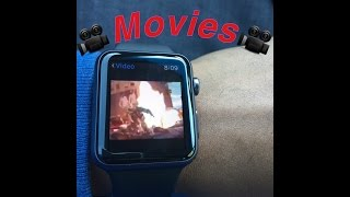 How To Play Movies On Applewatch