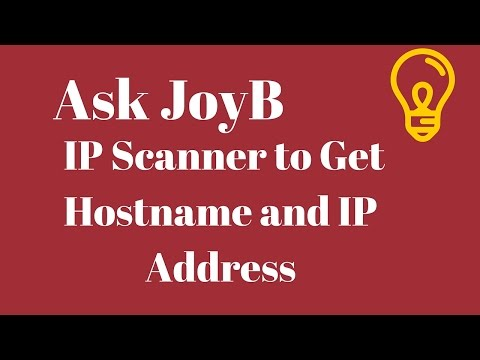 IP Scanner - To Get IP And Hostname - Angry IP Scanner