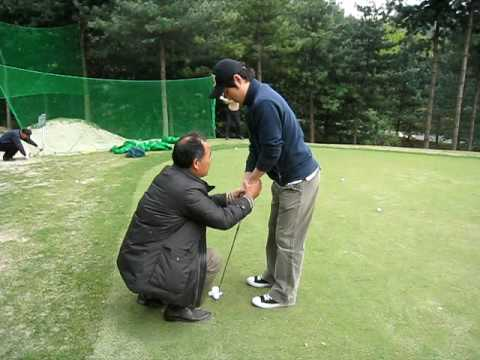 putting lesson  from  famous teacher peter kim in korea.