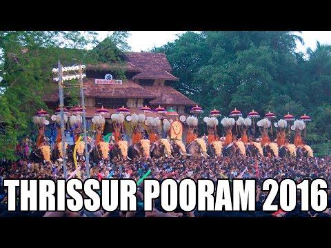 Thrissur Pooram 2016 | തൃശ്ശൂര് പൂരം 2016