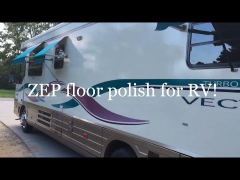 Zep floor polish for rv