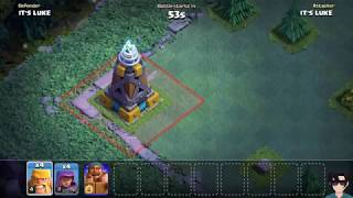BATTLE MACHINE vs MEGA TESLA vs ROASTER vs GIANT CANNON vs CRUSHER || Clash Of Clans!!!