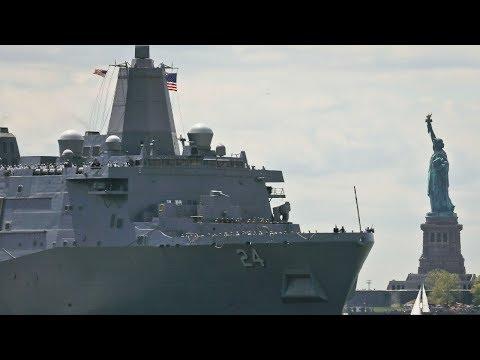 Fleet Week New York celebration kicks off with Parade of Ships