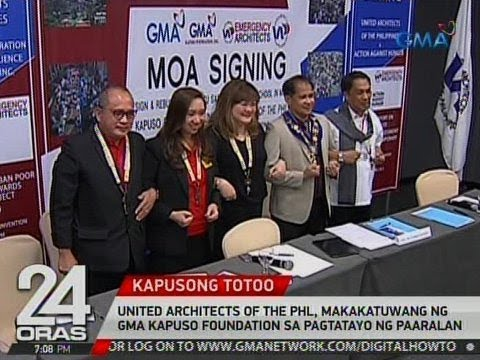 United Architects of the Phl, makakatuwang ng GMA Kapuso Foundation sa pagtatayo ng paaralan