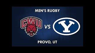 Central Washington vs BYU Rugby 21 March 2019