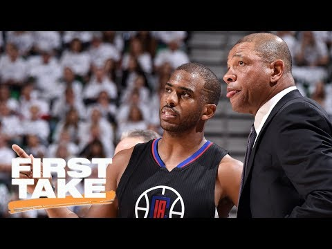 Doc Rivers And Chris Paul Rumors Are 'So High School' | First Take | June 30, 2017
