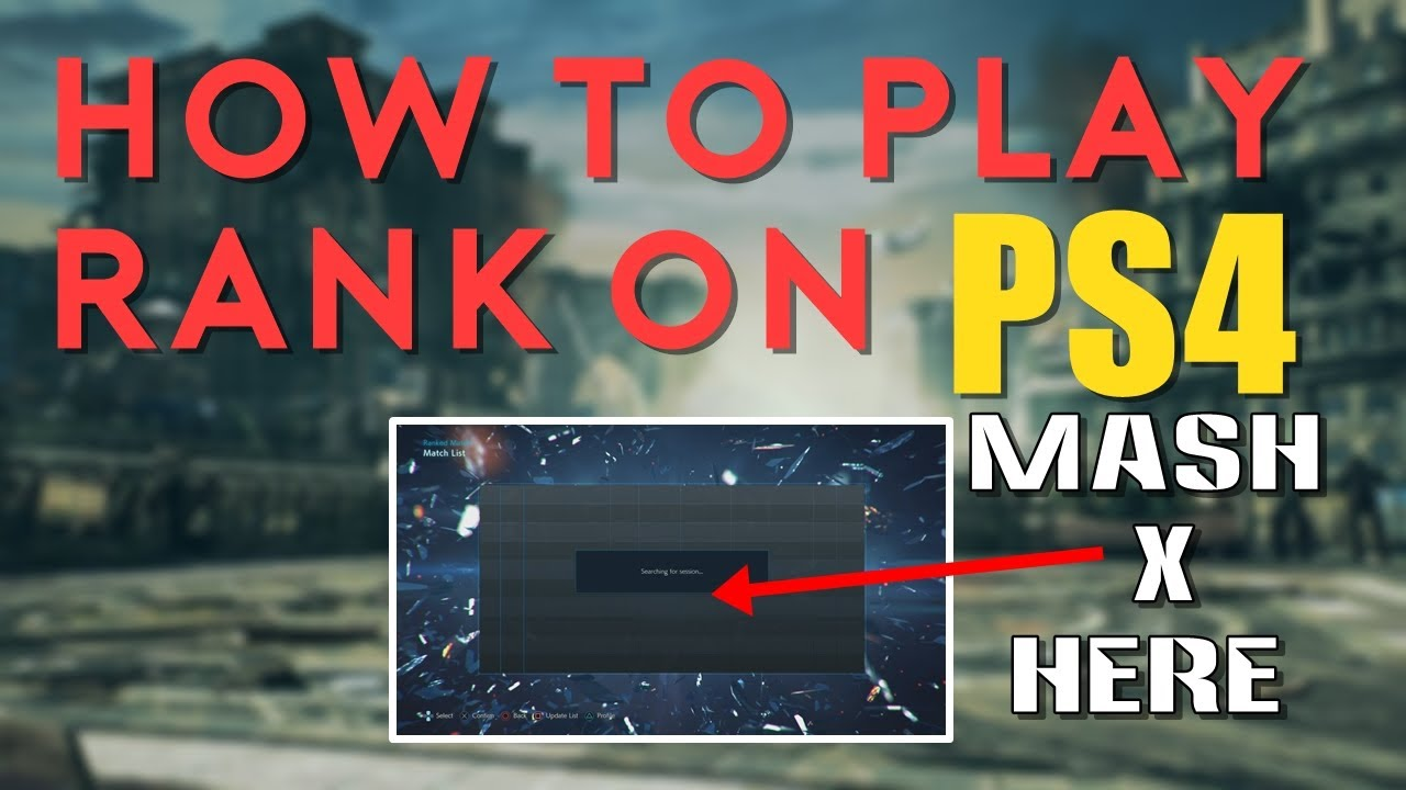 How To Play Tekken 7 Rank On Ps4 Doesn T Work Anymore Youtube