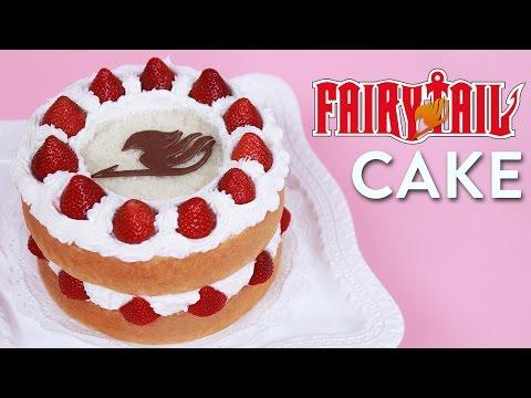 Make FAIRY TAIL FANTASIA CAKE - NERDY NUMMIES Pictures