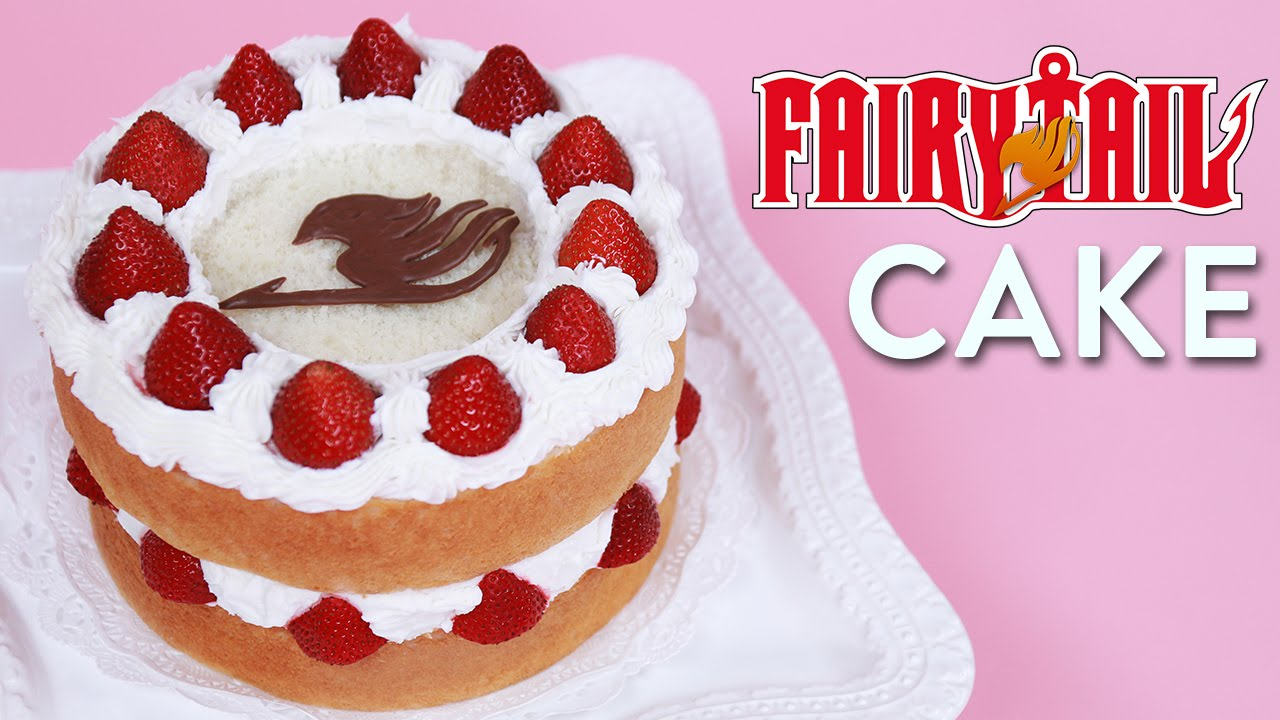 FAIRY TAIL FANTASIA CAKE NERDY NUMMIES YouTube
