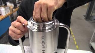 Flowmotion Powder Feeder, Operation and Handling