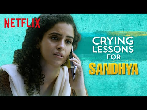 Crying Lessons ft. Sanya Malhotra, Sumukhi Suresh & Kumar Varun l Pagglait | Netflix India