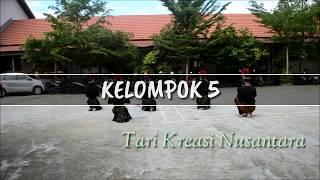 PRAKTEK TARI SMA : Tari Kreasi Nusantara