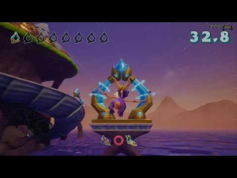 Spyro Reignited Trilogy Walkthrough - Part 43: Ocean Speedway