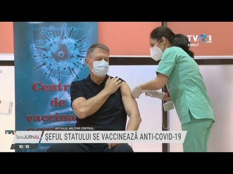 Ediţie Specială TVR1 – Vaccinarea Publică A Preşedintelui Klaus Iohannis împotriva COVID-19