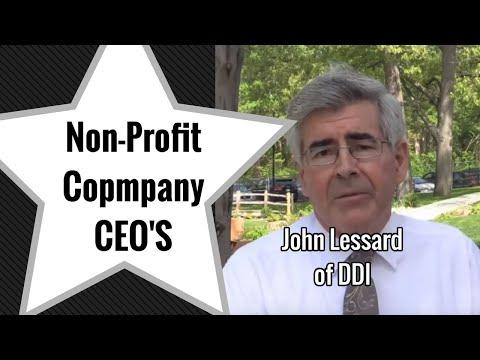 John Lessard of Developmental Disabilities Institute - Non-Profit CEO Interview