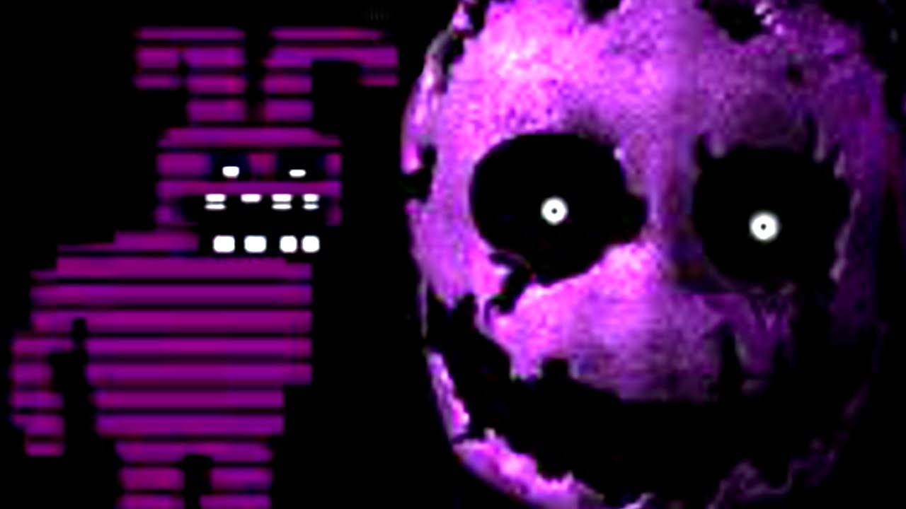 Fnaf 2 purple man jumpscare gif five nights at freddy x26 39 s 3 all