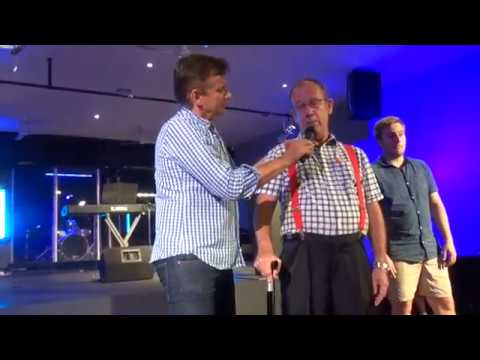 Chest heart pain & painful knee injury healed - John Mellor Healing Ministry