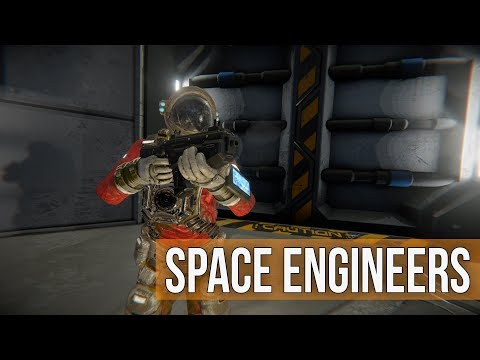 Space Engineers Survival -  Battle Barge in Space, Space, Space Ep 36