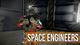 Space Engineers Survival -  Battle Barge in Space, Space, Space Ep 37
