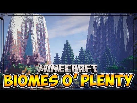 Minecraft Mods | BIOMES O' PLENTY - Over 50+ New Biomes! (Minecraft Mod Showcase)