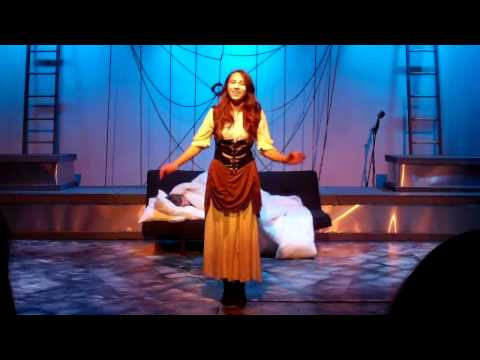 Danielle as Catherine in