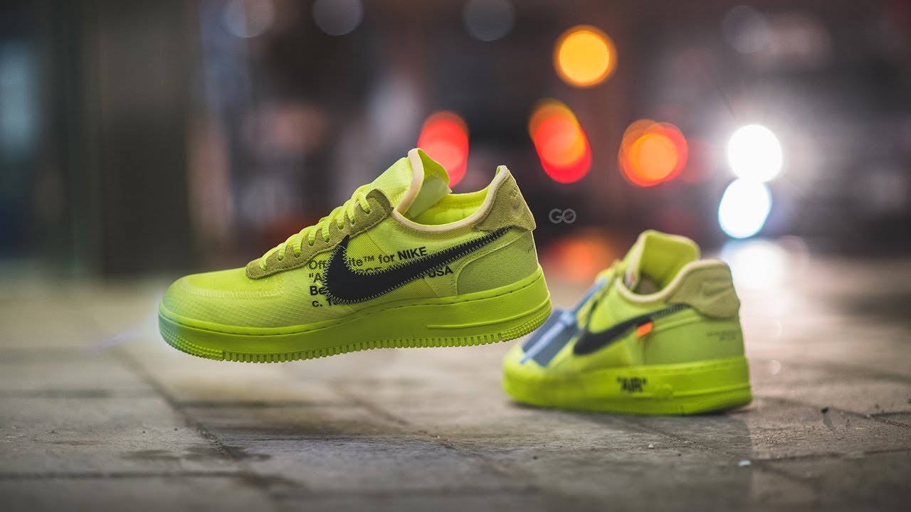 air force 1 x off white volt prezzo