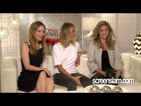 The Other Woman\: Cameron Diaz, Leslie Mann, & Kate Upton Exclusive Interview\: Part 2 of 2|ScreenSlam
