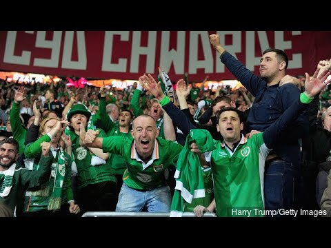 Cardiff in full voice but Republic of Ireland fans sing longest and loudest