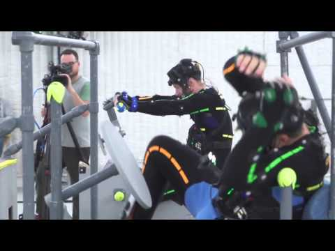 Uncharted 4 - Motion Capture Session