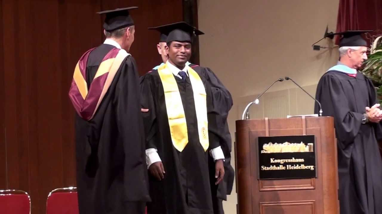University of Phoenix Graduation at Heidelberg , Europe Campus - YouTube