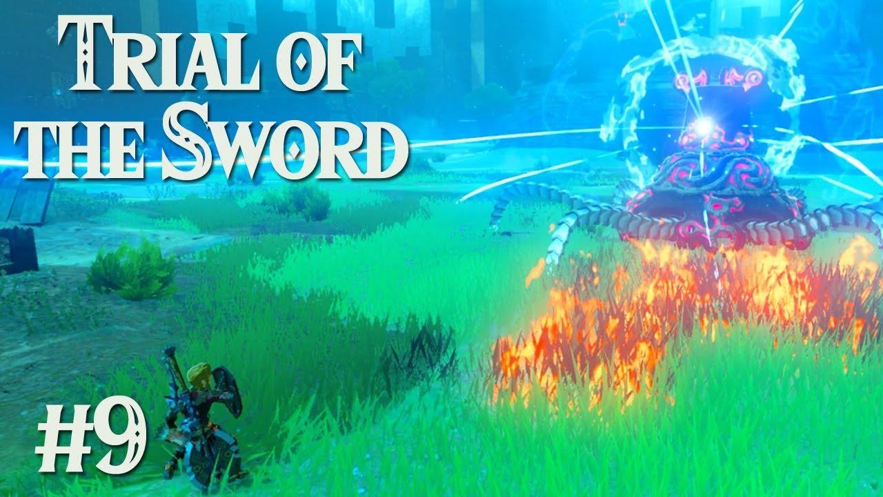 Regret Zelda Botw Trial Of The Sword 9