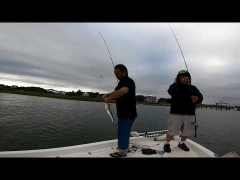FISHING FOR RED DRUM! WILMINGTON NC