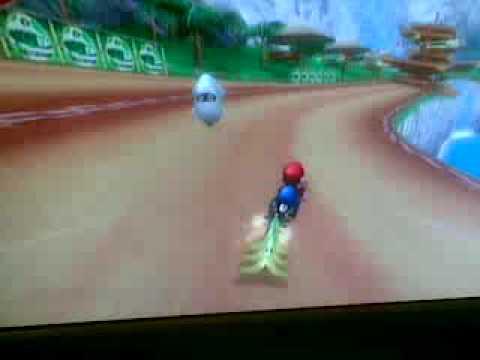 Mario Kart Wii 1 epic moment 6