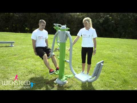 Super Set Circuit - Outdoor Gym Equipment