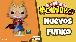 Nuevos Funko Pop de Boku No Hero Academia