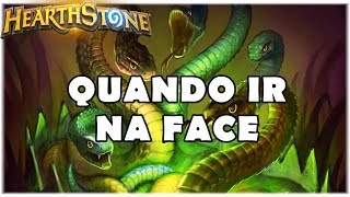 HEARTHSTONE - QUANDO IR NA FACE! (STANDARD SECRET HUNTER)