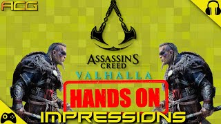 Assassins Creed Valhalla 3 Hours Hands On Impressions