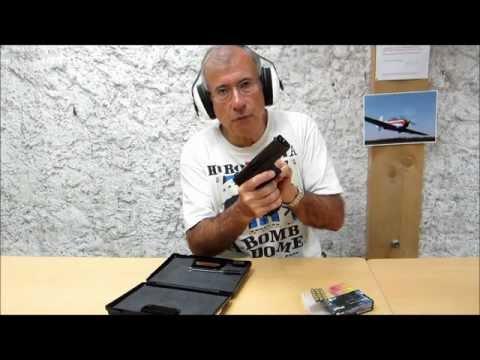 "Pistolet d'alarme BBM Bruni ""GAP"" (copie du Glock 17)"