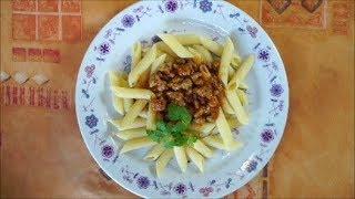 Рецепт соус томатно-мясной Болонез. Блюдо за 20 минут. На гарнир подойдут любые макароны