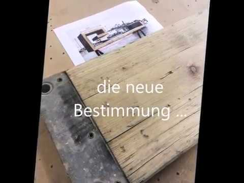 m bel aus ger stbohlen youtube. Black Bedroom Furniture Sets. Home Design Ideas