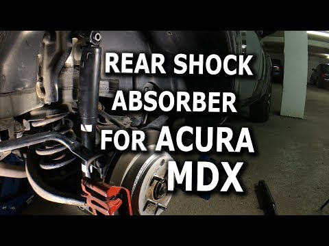 Rear Shock Absorber DIY for 2008 Acura MDX