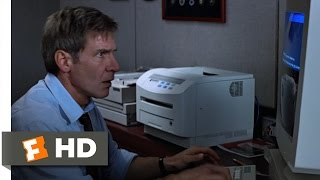 Clear and Present Danger (6/9) Movie CLIP - Computer Theft is a Crime (1994) HD
