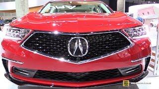 2018 Acura RLX Sport Hybrid HS-AWD - Exterior and Interior Walkaround - 2017 LA Auto Show