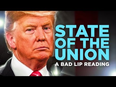 DZL - Bad Lip Reading is BACK!  This time... The State Of The Union.