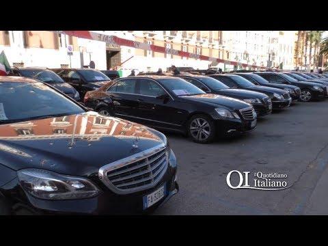 Bari, la rivolta degli Ncc contro la nuova Legge